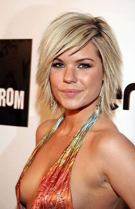 Groovy 30 Best Short Hairstyles For Round Faces Short Hairstyles 2016 Short Hairstyles Gunalazisus