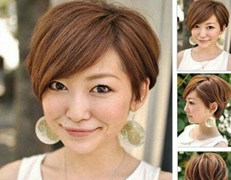 Best Short Hairstyles for Round Faces_10
