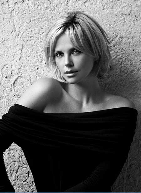 Best Short Hairstyles for Round Faces_13