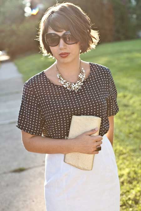 Best Short Hairstyles for Round Faces_15