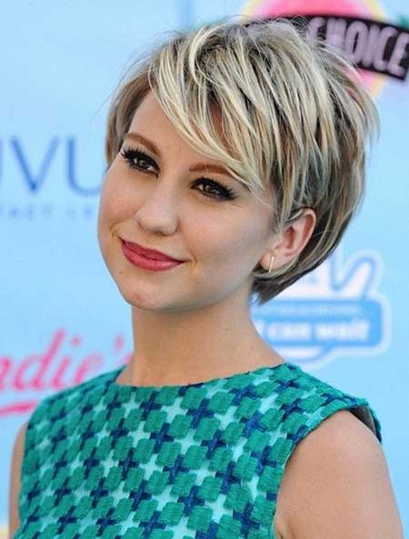 2015 Short Bob Hairstyles Round Face