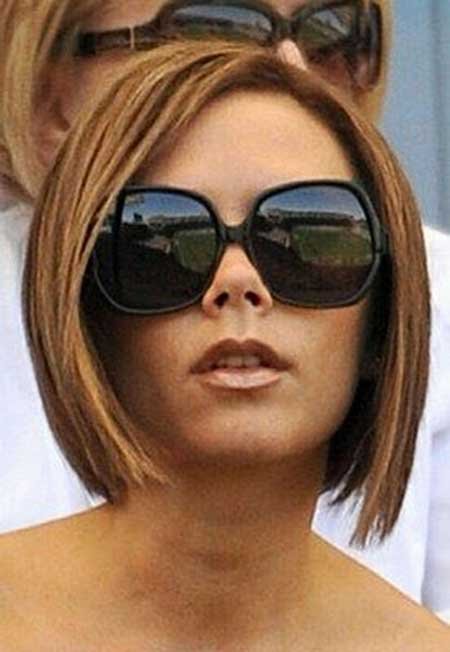 Best Short Hairstyles for Round Faces_22