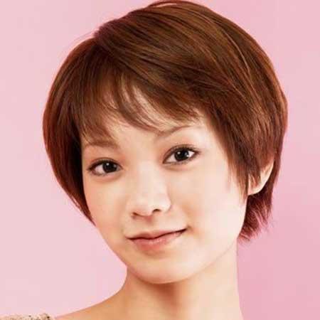 Astonishing 30 Best Short Hairstyles For Round Faces Short Hairstyles 2016 Short Hairstyles Gunalazisus