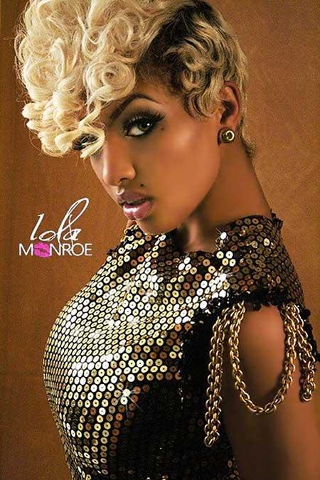 Fabulous 25 New Short Hairstyles For Black Women Short Hairstyles 2016 Hairstyles For Women Draintrainus
