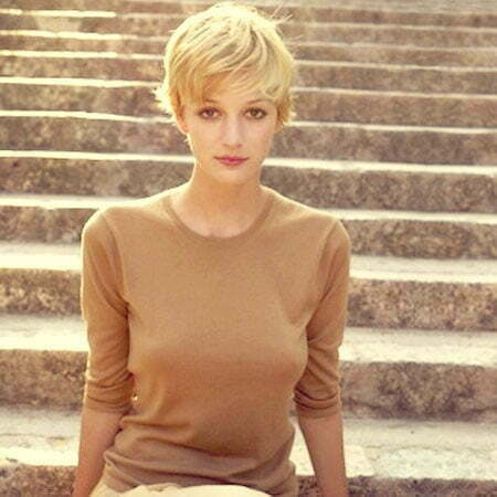 Blonde Pixie Cut
