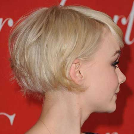 Blonde Short Hair Cuts