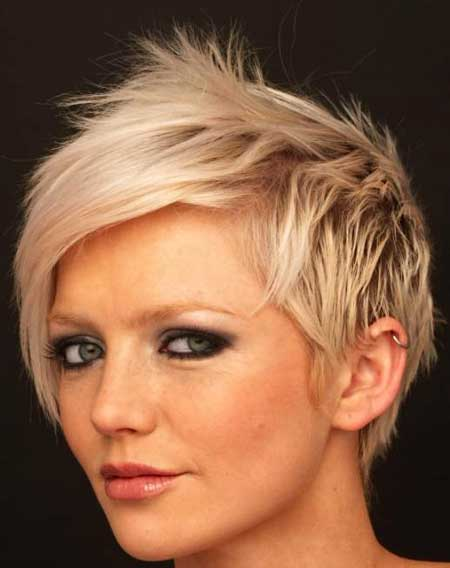 Blonde Short Hair Styles_12