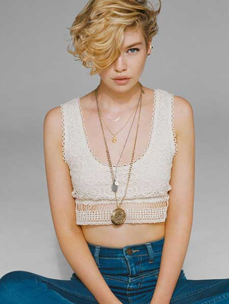 Blonde Short Hair Styles_2