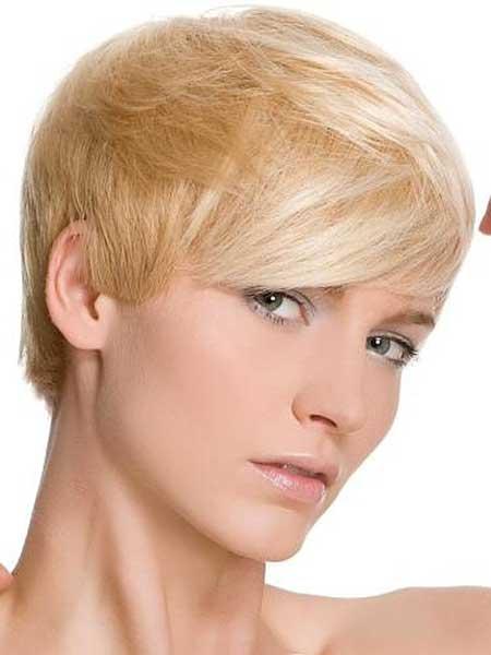Blonde Short Hair Styles_9