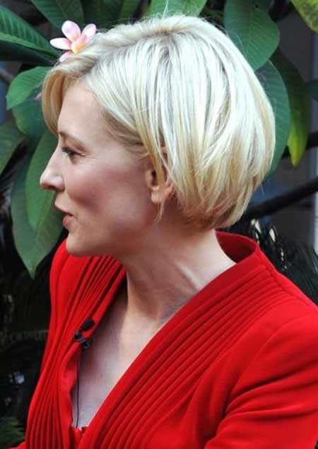 Short and Simple Inverted Bob Hairstyle