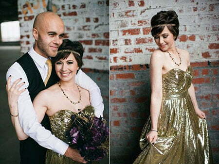 Brides Hairstyles for Short Hair_1