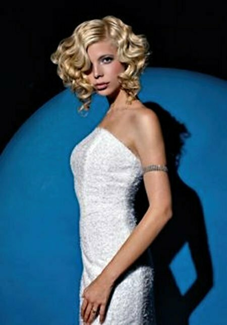 Brides Hairstyles for Short Hair_11