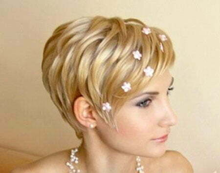 Brides Hairstyles for Short Hair_12