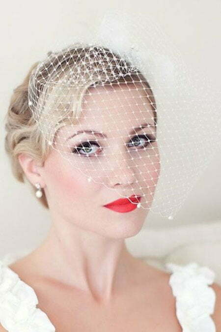 Brides Hairstyles for Short Hair_14