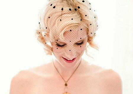Brides Hairstyles for Short Hair_3