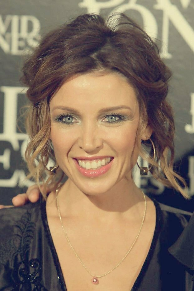 Celebrity Curly Bob Hairstyle