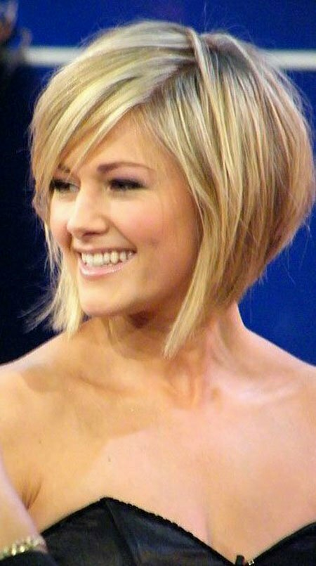 Celebrity Graduated Bob Haircut