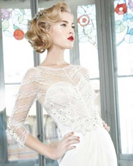 Wedding Short Hairstyles 2014