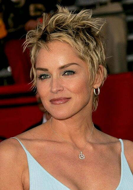 Celebrity Short Layered Hairstyle