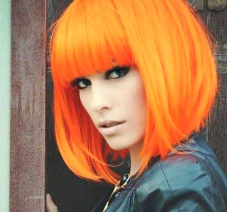 Bright Orange Cute Color