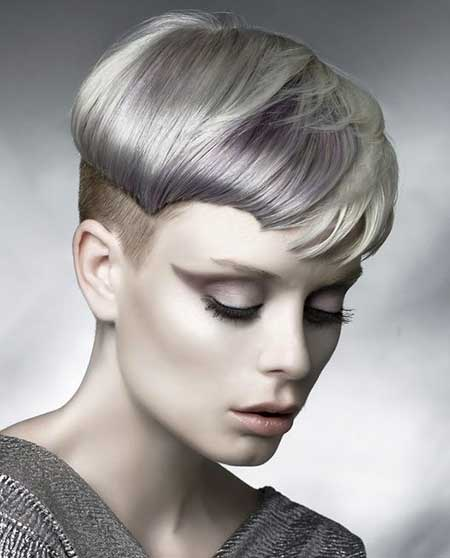 Blonde Light Purple Brown Combination