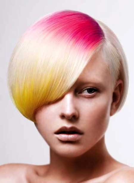 Pink Platinum Yellow Mix