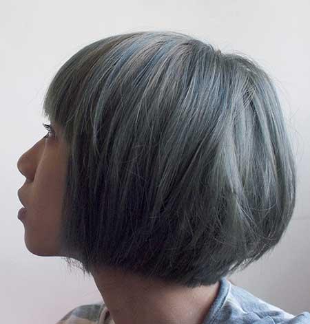 Blue Gray Cute Mix