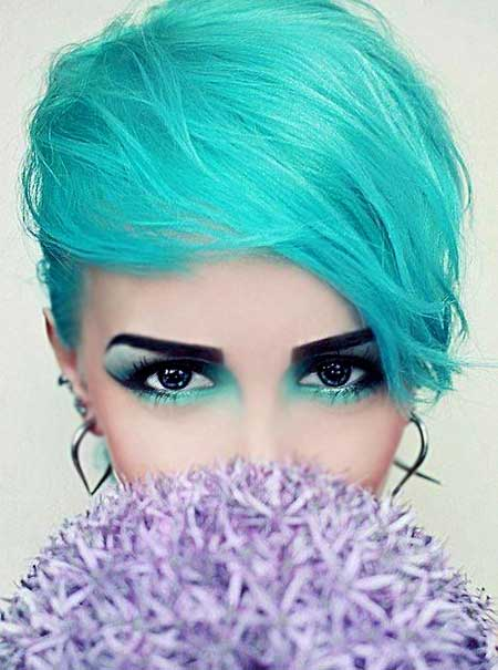 Dramatic Bright Blue Color