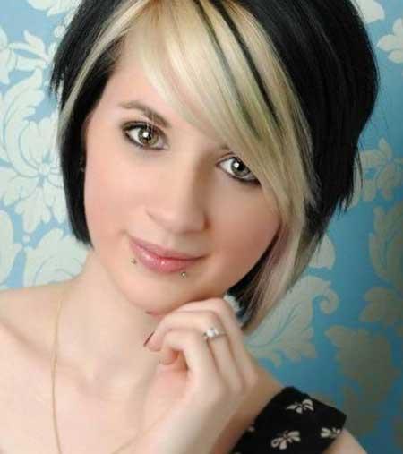 Dramatic Blonde Black Mix