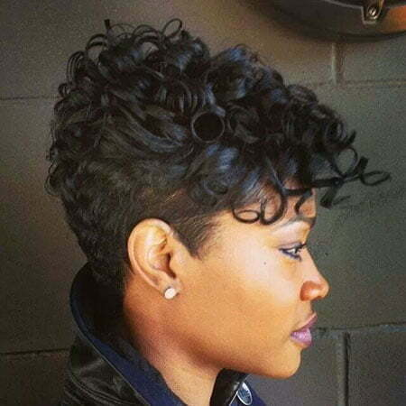Stupendous 25 Short Cuts For Black Women Short Hairstyles 2016 2017 Hairstyles For Men Maxibearus