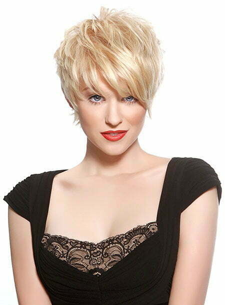 Cute Blonde Pixie Cuts