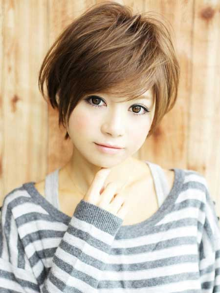 Cute easy hairstyles for short hair short hairstyles 2016 2017 cute easy hairstyles for short hair10 urmus Choice Image