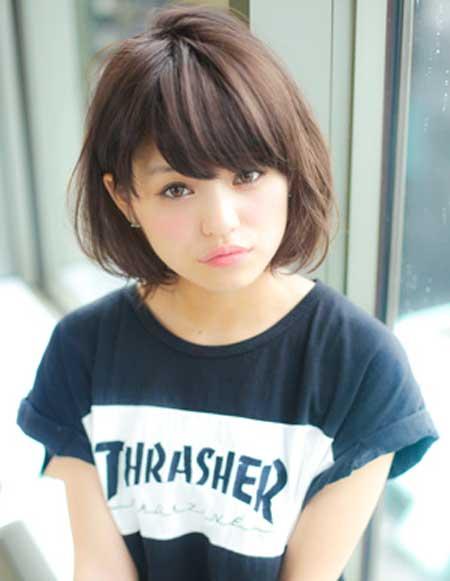 Astounding Cute Easy Hairstyles For Short Hair Short Hairstyles 2016 2017 Short Hairstyles Gunalazisus