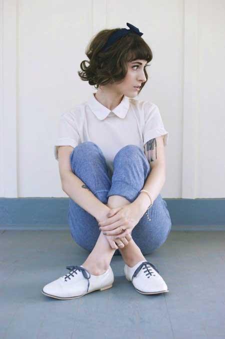 Cute Easy Hairstyles for Short Hair_19