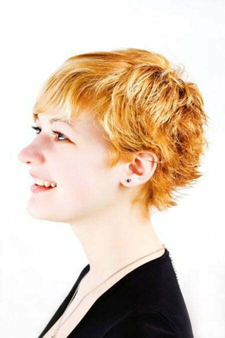 Nice and Charming Messy Pixie Cut