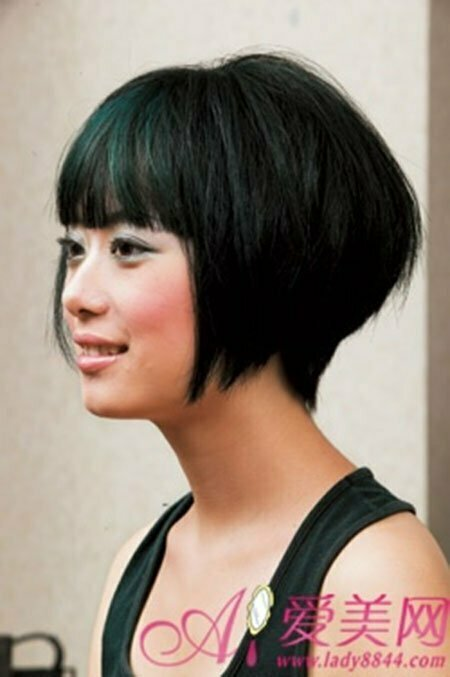 Fine Cute Short Asian Hairstyles Short Hairstyles 2016 2017 Most Hairstyles For Women Draintrainus