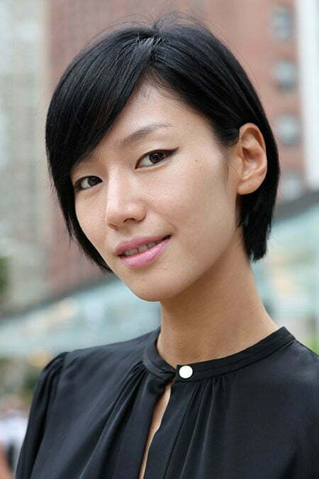 Cute Short Asian Hairstyles_6