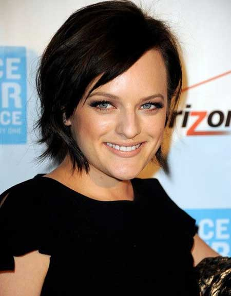Elisabeth Moss Bob Hair with Flip Out SidesElisabeth Moss Bob Hair with Flip Out Sides