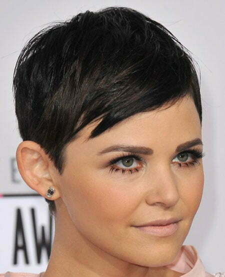 Remarkable Female Celebrity Short Haircuts Short Hairstyles 2016 2017 Hairstyles For Women Draintrainus