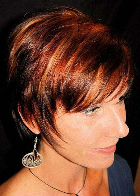 20 Color Ideas For Short Hair  Short Hairstyles 2016  2017  Most Popular S