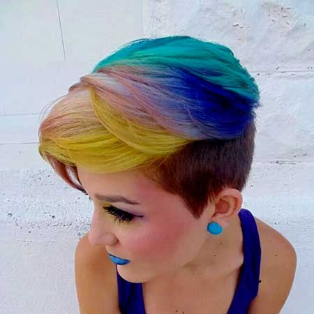 short hair colors 20142015  short hairstyles 2018  2019