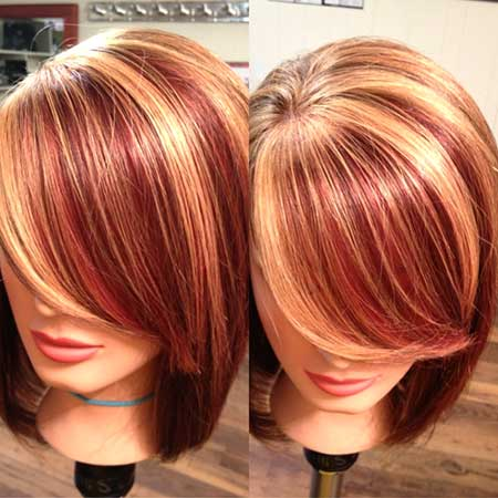 Remarkable Hair Colors For Short Hair 2014 2015 Short Hairstyles 2016 Hairstyles For Women Draintrainus