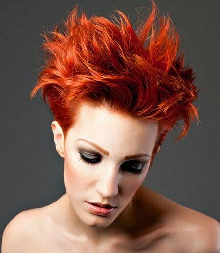 Hair Colors For Short Hair 2014