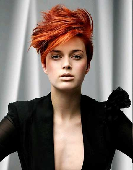 Creative Hair Color Ideas For Short Haircuts  Celebrity Hairstyles