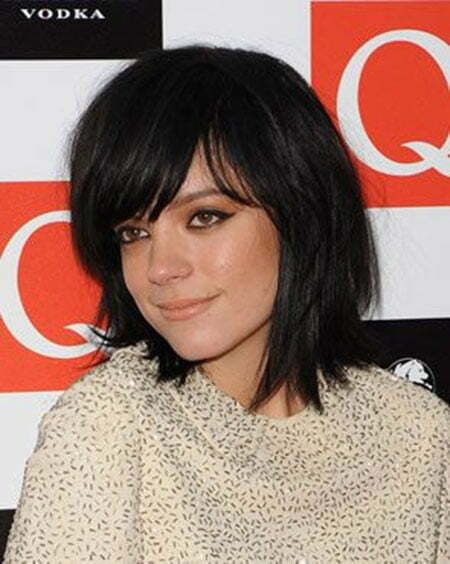 Hair Styles with Bangs for Short Hair_10