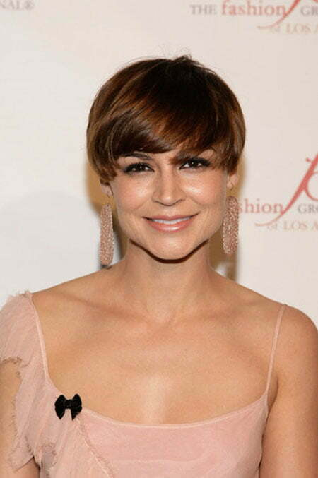 Hair Styles with Bangs for Short Hair_14