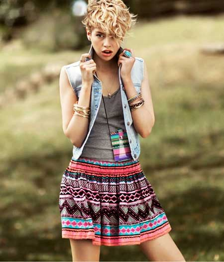 Magnificent 20 Best Short Curly Hairstyles 2014 Short Hairstyles 2016 2017 Hairstyles For Women Draintrainus