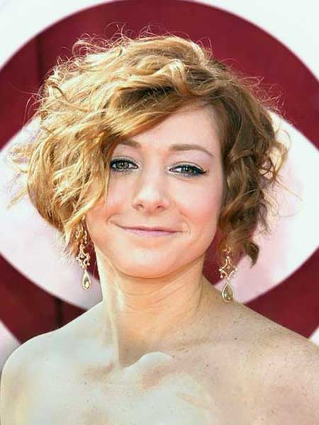 Admirable 25 Short Curly Hairstyles 2013 2014 Short Hairstyles 2016 Short Hairstyles Gunalazisus