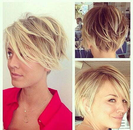 Hairstyles for Wavy Short Hair_9