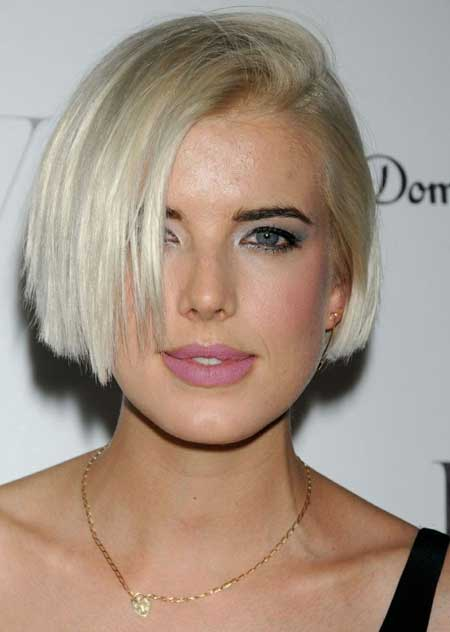 Hairstyles with Short Straight Hair_7